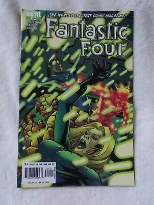 marvel comics fantastic four #530,oct 2005,new condition,bagged & boarded