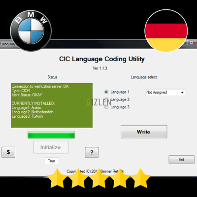BMW CIC Tools FSC Activation Code for BMW CIC and NBT
