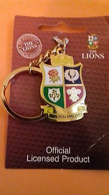 British Lions key ring. 2005 Tour of New Zealand. Rugby