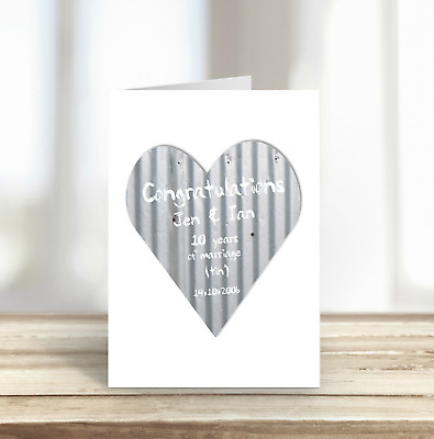 Personalised 10th anniversary card tin anniversary tin heart personalised 10th anniversary card tin anniversary tin heart m4hsunfo