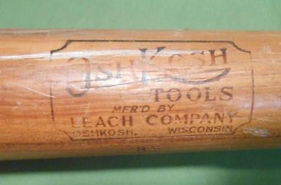 Vintage Leach Co Cant Hook Kant Hook Log Carrier Handle Lumber Tool Oshkosh 85