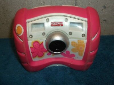 Fisher Price Kid Tough Digital Camera Pink Flowers Sounds