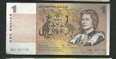 Australia 1983 1 Dollar P 42d Circulated