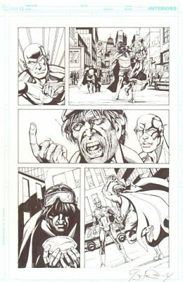 DC Retroactive: Flash '80s #1 p.11 - vs. Bad Guys art by Greg LaRoque