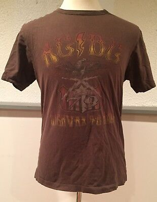 AC DC Highway To Hell T-Shirt Bon Scott Cliff Williams Young Bros Phil Rudd 79 M