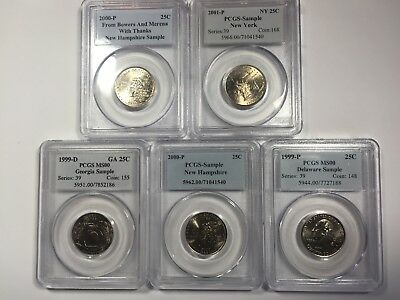 PCGS Samples - all 5 for the money!