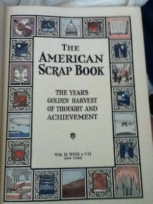 Vintage 1928 The American Scrapbook Golden Harvest of Thought and Achievement