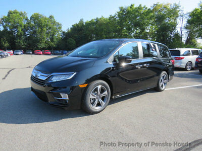2018 Honda Odyssey Touring Automatic Touring Automatic New 4 dr Van Automatic Gasoline 3.5L V6 Cyl Crystal Black Pear