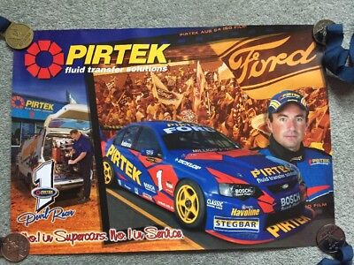 Marcos Ambrose - Pirtek Racing - No.1 in Supercars. No.1 in Service - Poster