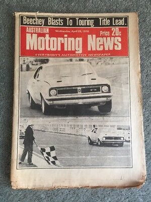 Australian Motoring News - April 29 1970 - Beechey Blasts to Touring Title Lead