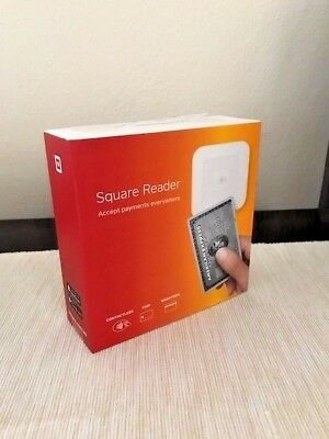 Square Card Reader BRAND NEW in sealed box. Contactless, Chip and Magstripe