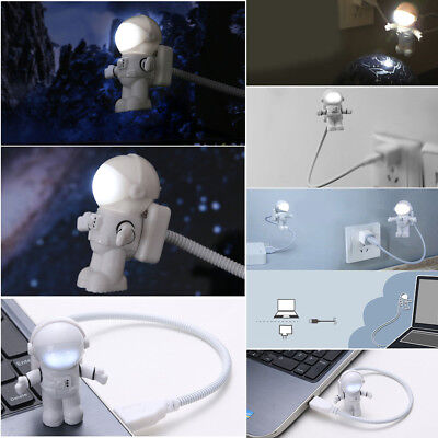 Laptop Mini USB Astronaut Spaceman LED Lamp Night Light