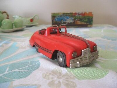 Triang Minic - No: 2 - Red Convertable .- 1 . - Restore or Parts ?