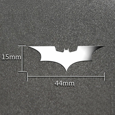 2*Batman Luxury Phone Laptop DIY Sticker Car Motorcycle Decal 3D Metal Stickers