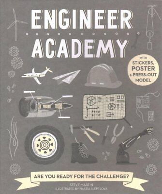 Engineer Academy Are you ready for the challenge? by Steve Martin 9781782404460