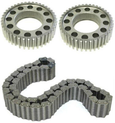NP271 NP273 Transfer Case Chain & Sprocket Kit, Fits Ford & Dodge