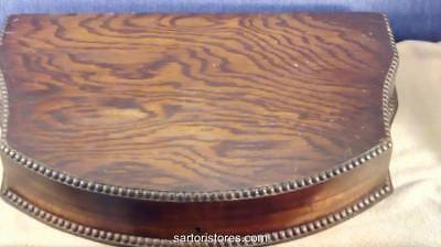 Vintage Wooden Cutlery Case - George V or Earlier - Lovely Condition