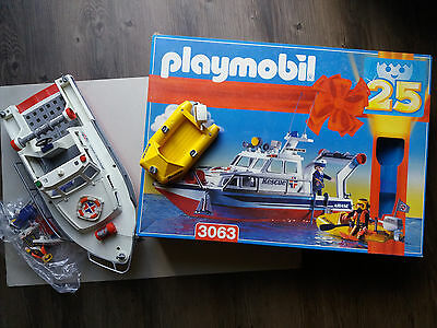 Playmobil Rescue Boot 3063