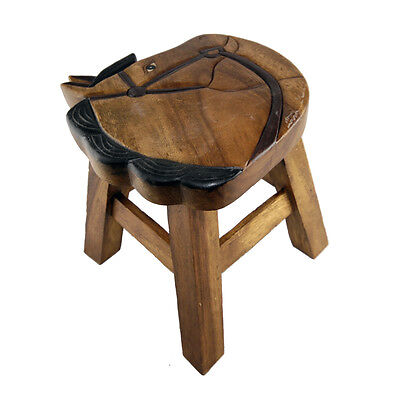 Childs/Childrens/Kids Wooden Stool - Horse