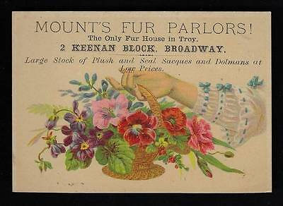 Mount's Fur Parlors, Otter and Seal Sacques and Dolmans, Brocaded Coats
