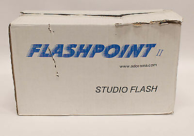 Flashpoint II Studio Flash Model FP320A 110-120V  Monolight Strobe
