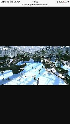 Center Parcs Short Break Holiday Whinfell Forest 8/1/18 To 12/1/18