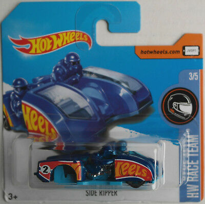 "Hot Wheels - Side Ripper blaumet. ""HW Race Team"" Neu/OVP ERROR !!!"