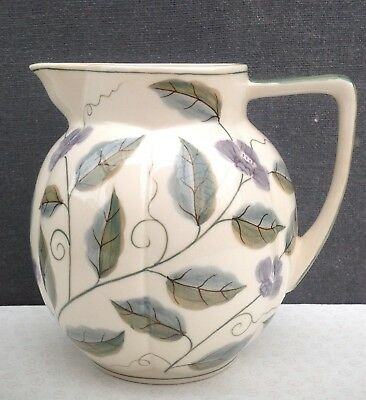 Laura Ashley hand painted jug 1992