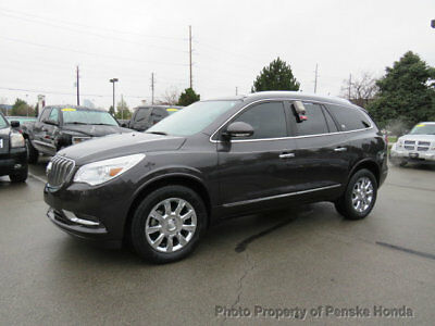 2015 Buick Enclave AWD 4dr Leather AWD 4dr Leather SUV Automatic Gasoline V6 Cyl GRAY