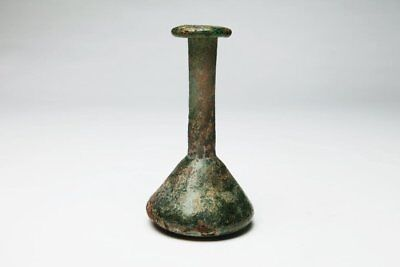 Large Ancient Roman Glass Unguentarium Vessel c.1st-2nd Century AD.