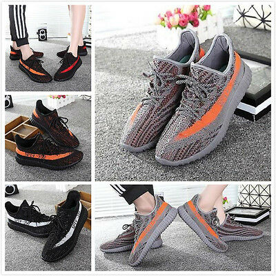 Sports Mens Yezzy 350 Boost Trainers Fitness Gym Sports Running Shock V2 Shoes