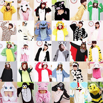 Hot New Kigurumi Pajamas Animal Cosplay Costume Unisex Adult Onesie1 Sleepwear