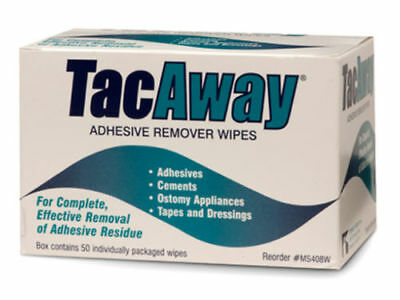 Skin-Tac-H Adhesive TacAway Remover Wipes, 50 count by Torbot Group, Inc.