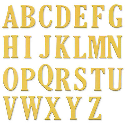 5CM Large Big Alphabet Letters A-Z Metal Cutting Dies Stencils DIY Scrapbooking
