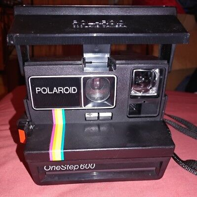 Polaroid One Step Close Up 600 Camera -Untested/As Is - Free Shipping -