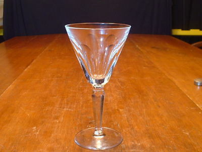 "Elegant Waterford Cut Crystal 6 1/2"" Claret Wine In The Sheila Pattern"