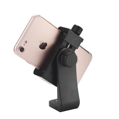 New Universal Cell Phone Tripod Mount/Vertical Bracket Holder Adapter-Clamp