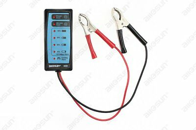 Portable Car 12V Power Supply Check Automotive Storage Battery Tester Ideal Tool