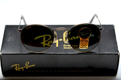 ff12c705d2 New Vintage Ray Ban John Lennon Style W1575 Antique Pewter Classic Metals  B&L