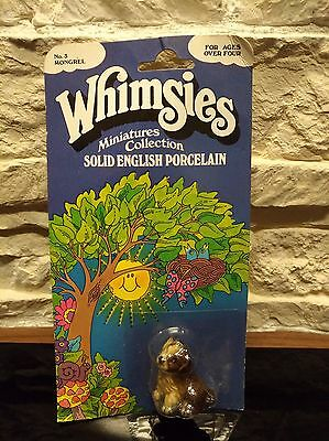 Vintage Wade Whimsie full boxed Blister England No.3 Mongrel