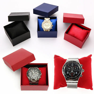 Wholesale Present Gift Box Case For Bangle Ring Earrings Wrist Watch Box