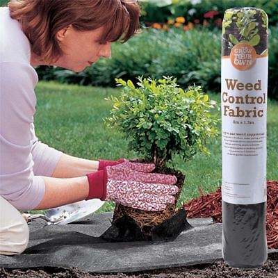 Heavy Duty Weed Control Fabric Garden Landscape Ground Sheet Cover Membrane