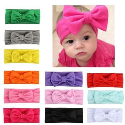 Fashion Cute 12 Colors Elastic Hair Band Baby Girl Head Band Hair Accessories