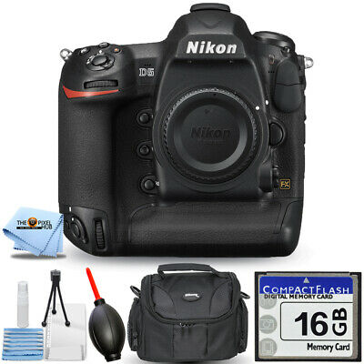 Nikon D5 DSLR Camera (Body Only, Dual CF Slots) PRO BUNDLE BRAND NEW