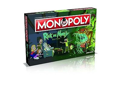 Rick and Morty Monopoly ***NEW***