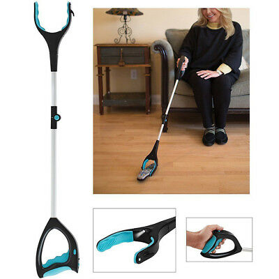 Grab It Disabled Pick up Helping Hand GRABBER Reach Arm Extension Tools AU HOT