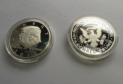 US Donald Trump Eagle Coin Make America GREAT Again 45th President Liberty AA1
