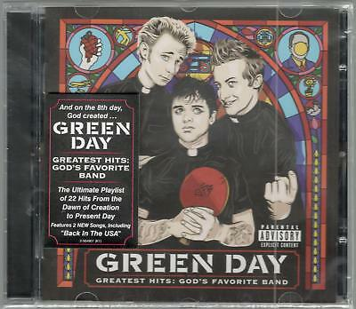 Green Day Greatest Hits God's Favorite Band Sealed Cd New