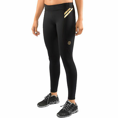Virus Womens Bioceramic Compression Full Pant (EAU7) - Black - X-Large