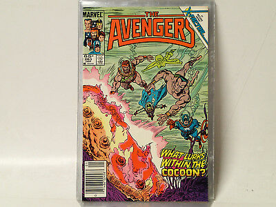 AVENGERS #263 Marvel Comics 1986 VF- Return of Jean Grey! 1st X-Factor!  FL
